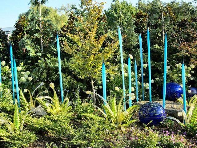 Chihuly Glass Exhibit, Seattle Center